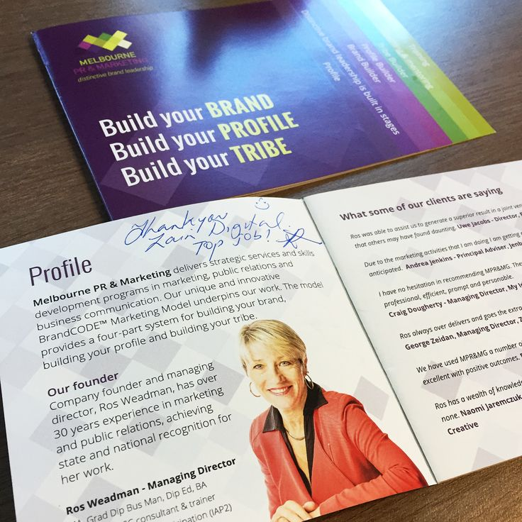 We have received great feedback from Melbourne PR & Marketing on the unique brochures we designed for them. It has left an impression for those that have received them from Ros and they have all said it is a unique design and have not seen anything like it.  Contact us and we will come up with a unique solution to get your clients talking #Design #Marketing #Branding #Brochures #Print #GraphicDesign