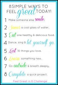 Feel Great in 8! - Smitten By...