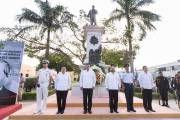 Yucatán conmemora el natalicio de Benito Juárez