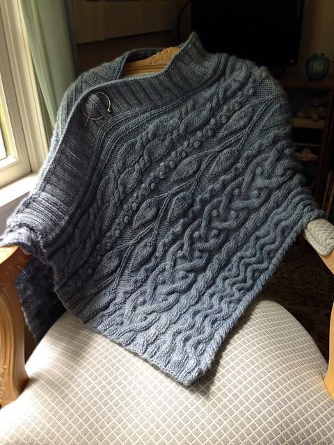 Ravelry: Ode to Skye Wrap pattern by Chris Bylsma