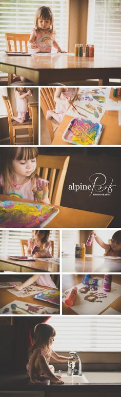 Kids Everyday Life with Alpine Roots Photography