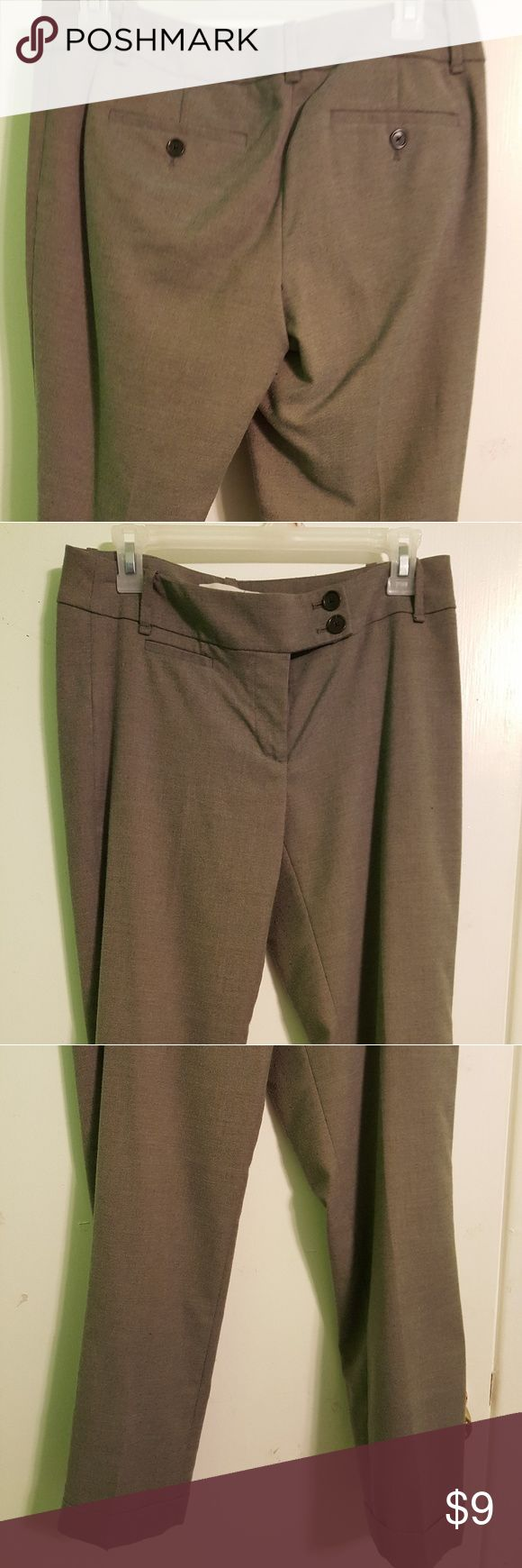 Light brown slacks Loft size 2 light brown slacks. Great for work with heals, or flats.  Very good condition. Just to big for me. LOFT Pants Trousers