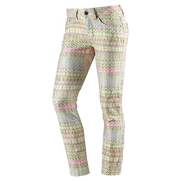 Sehr cool gemusterte Jeans von Nümph im Slim Fit Style.