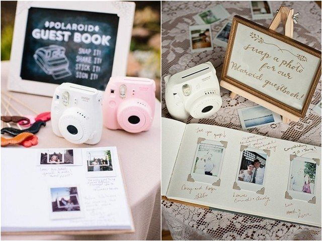 30 Creative Polaroid Wedding Ideas You'll Love