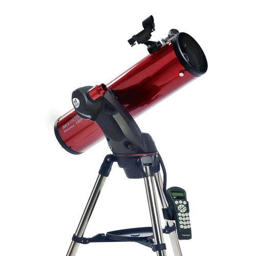 The smartest telescope in the universe! The SkyProdigy's automatic alignment process takes only a few minutes, then you will be ready to select from thousands of objects to view.  Not sure what to look at?  Select the Sky Tour option; this feature offers a customized list of the best objects in the sky to view for your exact time and location anywhere in the world. Find our more here - http://www.telescopesdirect.com.au/Celestron-SkyProdigy-130-Computerised-Telescope