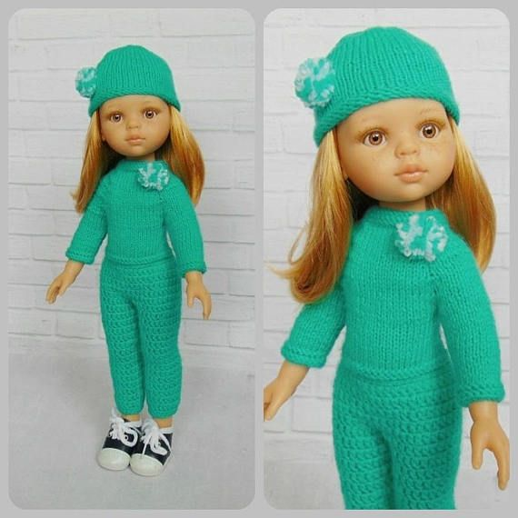 Paola Reina outfit hat sweater leggings Paola Reina doll