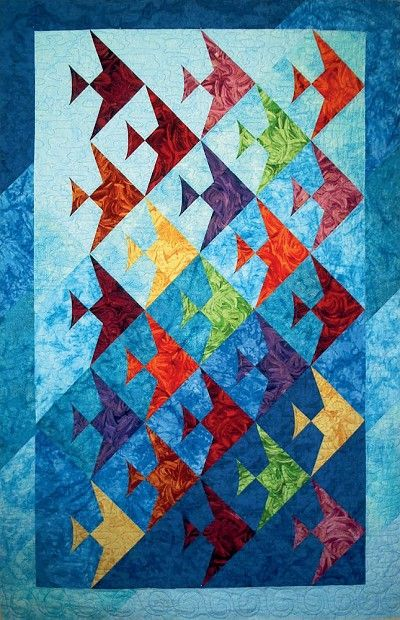 - Up A Lazy River Quilt Pattern - at The Virginia Quilter