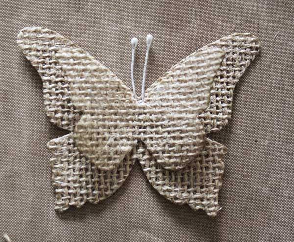 M s de 1000 ideas sobre artesan as de arpillera en - Saco de arpillera ...