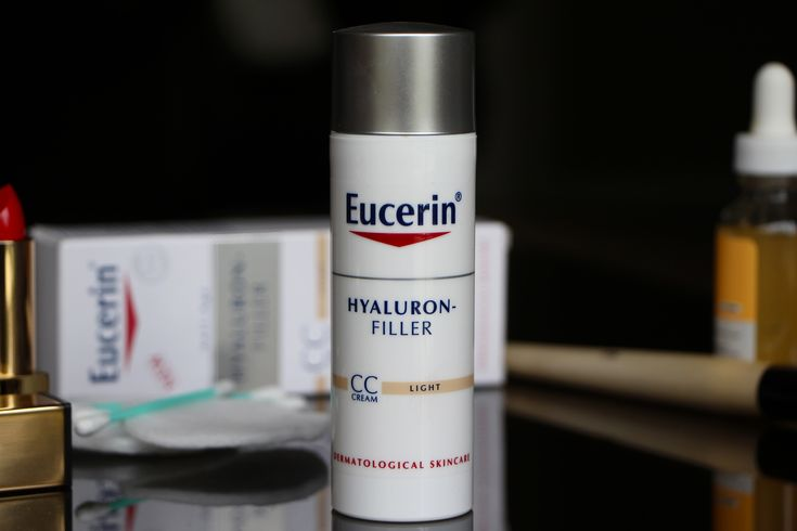 Trial: Eucerin Hyaluron-Filler CC Cream #ad | A Model Recommends