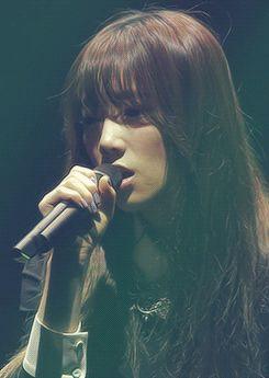 Taeyeon SNSD Girls' Generation Passionate GIF