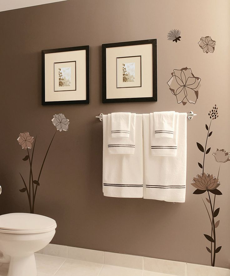 Top 25 Bathroom Wall Colors Ideas 2017: Best 25+ Flower Wall Decals Ideas On Pinterest