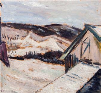 Svarte åser By Henrik Sørensen ,1918