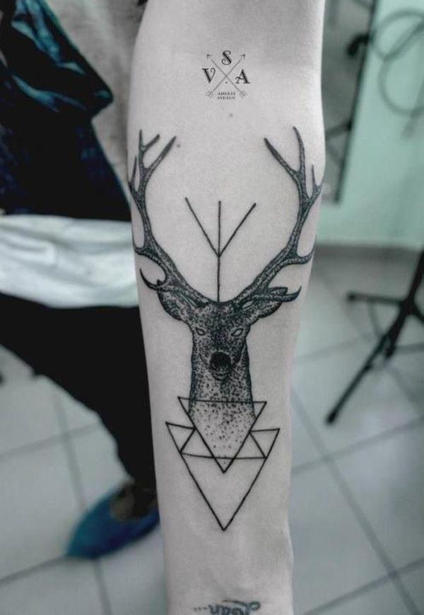 45 Inspiring Deer Tattoo Designs | Cuded