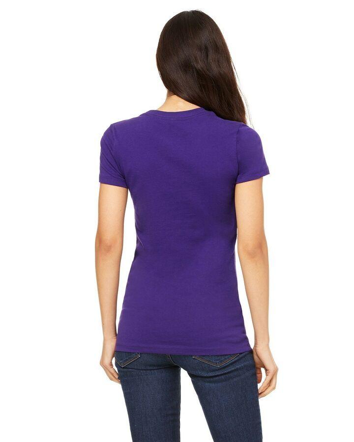Bella Canvas Ladies Cropped T-Shirt Tee S-2XL