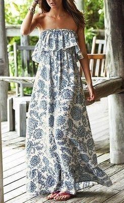 Libertad!! Los vestidos de playa también nos pueden ofrecer esa sensación