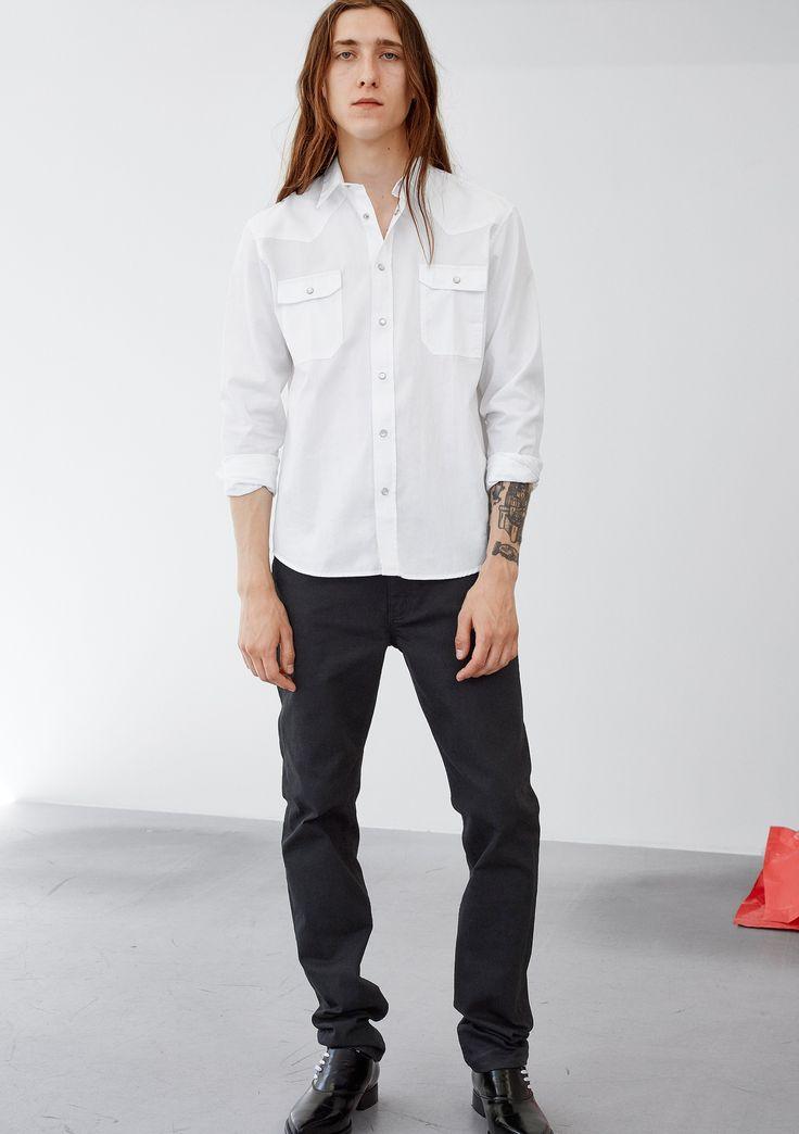 Air Shirt - White #HopeStockholm
