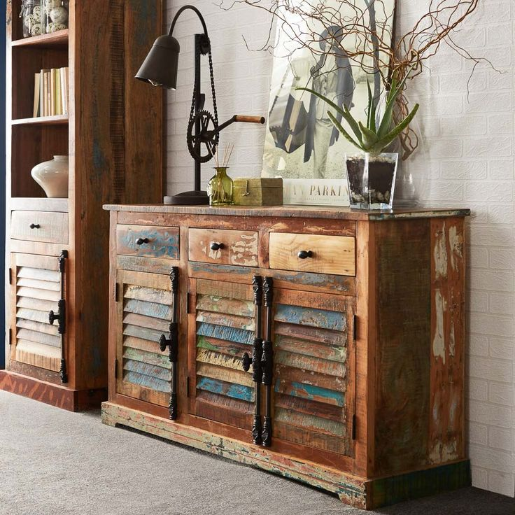 Coastal Wood Wide Sideboard  Reclaimed FurnitureWood. 12 best Coastal Reclaimed Furniture   Eco friendly  industrial and