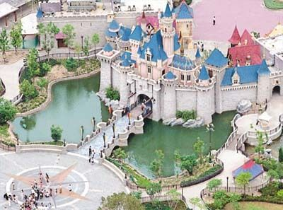 Hong Kong Disneyland... I'd go to any Disney park anywhere.