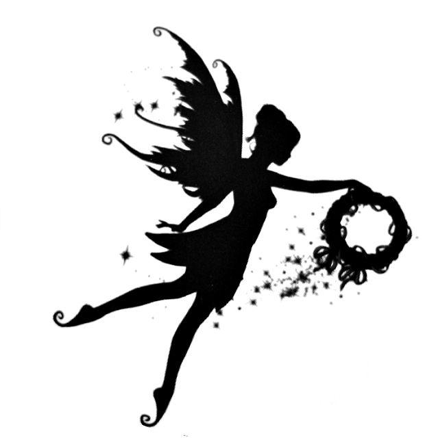 fairy on moon silhouette | dromfge.top
