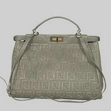 Fendi First Choice for The Season 2291 gray sheepskin double F dual word Pressure:  Postbag, Und Tasch, Sheepskin Double, Pressure, Gray Sheepskin, 2291 Gray, Seasons 2291, Jewelery And, Dual Words