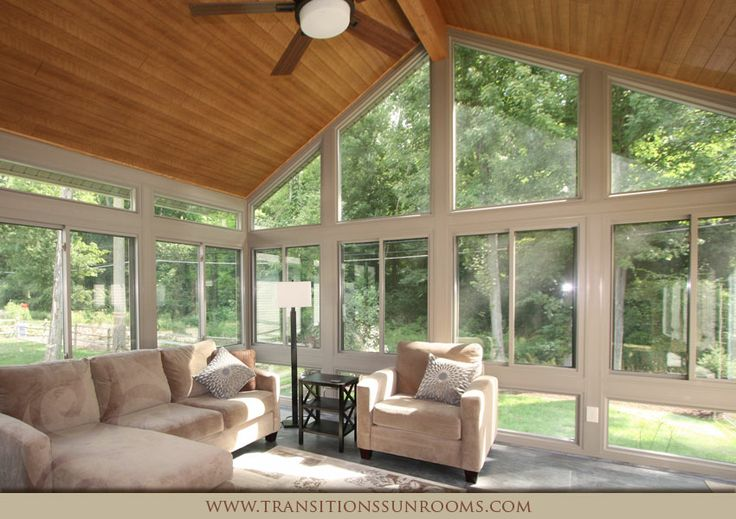 17 best images about sun room for mom on pinterest for Transition windows for homes