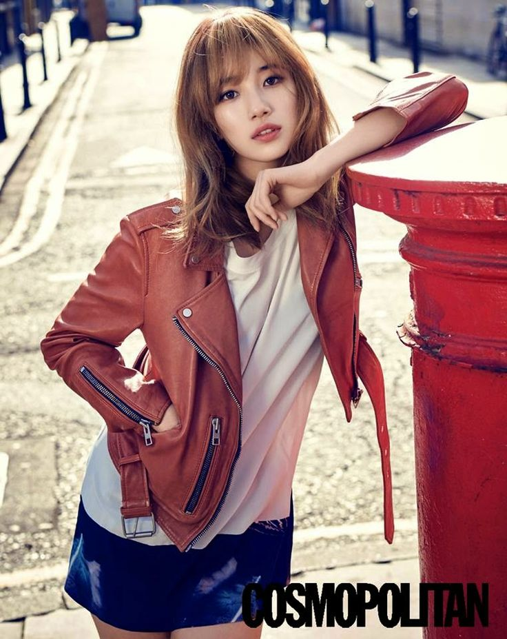 Suzy Bae miss A - Cosmopolitan Magazine April Issue 2015
