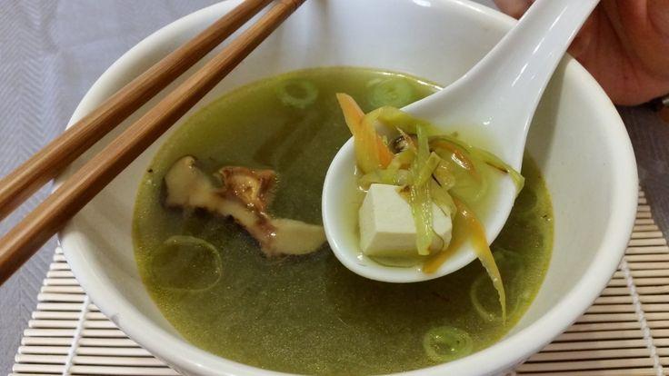 Receta de tofu con algas