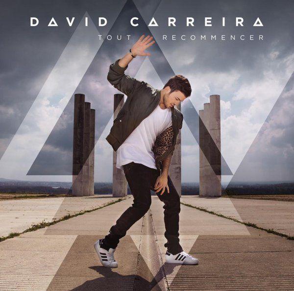 """[CONCOURS] David Carreira : gagnez votre album """"Tout Recommencer"""" dédicacé par l'artiste !"""