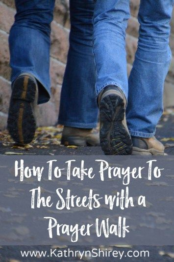Want to put your prayer into action? Take it to the streets with a prayer walk. Fill your your neighborhood, school, church, or community with…