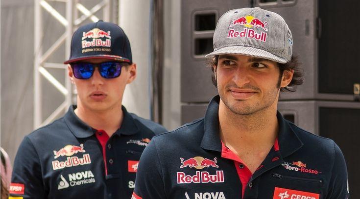 Carlos Sainz Jr. y Max Verstappen continúan con la rivalidad en 2016 - http://www.actualidadmotor.com/carlos-sainz-jr-y-max-verstappen-continuan-con-la-rivalidad-en-2016/