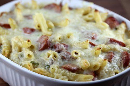 Smoked Polish Sausage Casserole Recipe | Free Delicious Italian Recipes | Simple Easy Recipes Online | Dessert Recipes