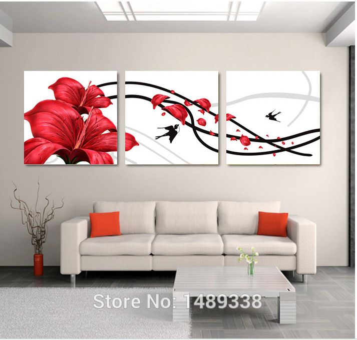 20 Abstract Flower Paintings Download Free And Premium Templates Wall Art