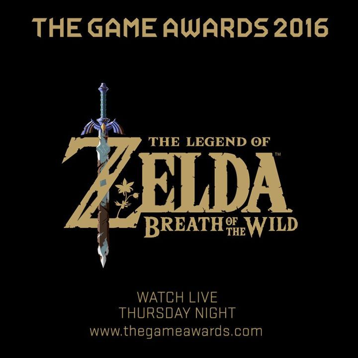 """Zelda: Breath of the Wild Confirmed for The Game Awards  New footage of The Legend of Zelda: Breath of the Wild will be revealed this Thursday night December 1 at The Game Awards.  In a post on Twitter Nintendo of America announced that """"an exclusive look"""" at the upcoming Nintendo Switch and Wii U title will be shown at the event. In addition The Game Awards producer Geoff Keighley posted a pair of teaser images on Twitter one of which you can see below.   via Geoff Keighley on Twitter…"""
