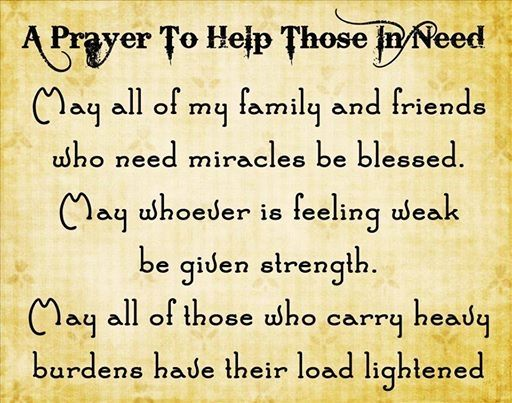 A Prayer To Those In Need Quotes Positive Quotes Quote