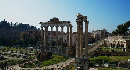 Le FORUM de la Rome Antique