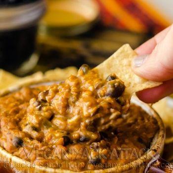Cheezy Soyrizo Bean Dip | Vegan Appetizers | Pinterest | Bean Dip ...