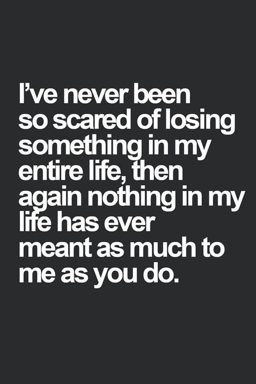 There are people I don't want to lose  EVER!!!