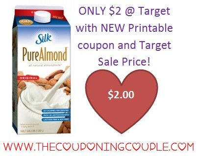 CHEAP Silk Milk @ Target with NEW coupon! Click the link below to get all of the details and a direct link to the coupon ► http://www.thecouponingcouple.com/cheap-silk-milk/  #Coupons #Couponing #CouponCommunity  Visit us at http://www.thecouponingcouple.com for more great posts!