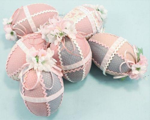 Ostereier verzieren - wie Sie mit Textilien schicke Osterdeko kreieren
