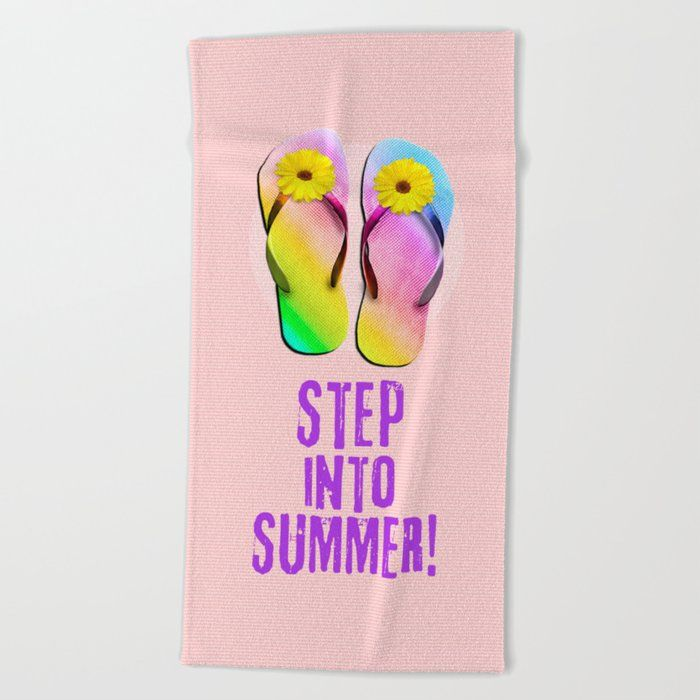 Get Some Sun On Our Oversized Artist Designed Beach Towels And