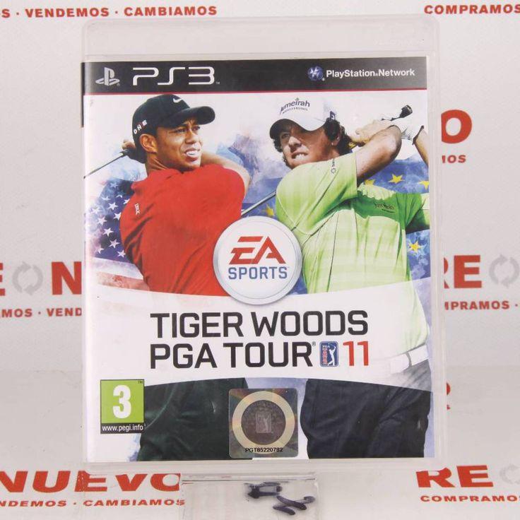 # Videojuego TIGER WOODS PGA TOUR 11  para PS3 E269237 de segunda mano#segunda mano#
