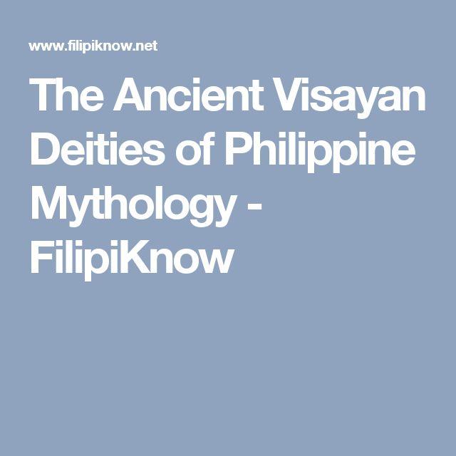 The Ancient Visayan Deities of Philippine Mythology - FilipiKnow