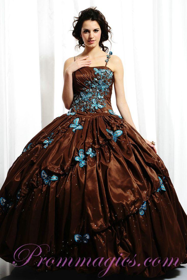 54 best fairytale dresses images on Pinterest | Quince dresses ...