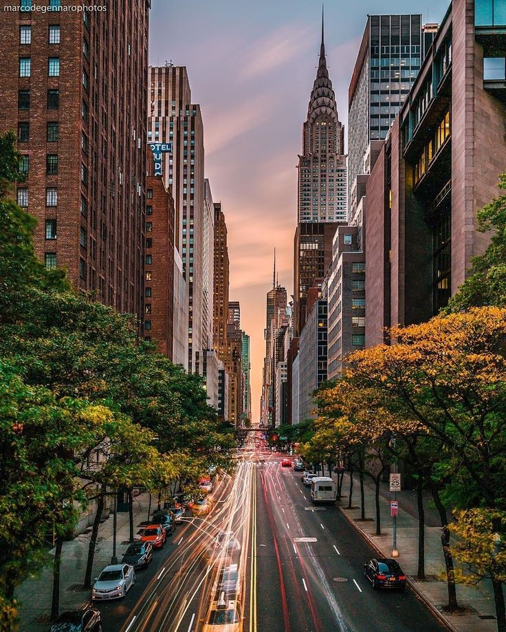 42nd St, Manhattan, NYC by Marco Degennaro Photography