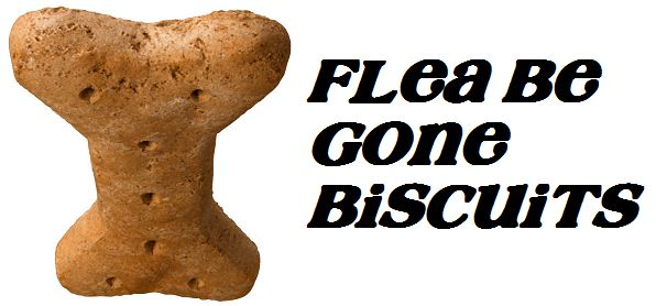 Flea Be Gone Dog Biscuits