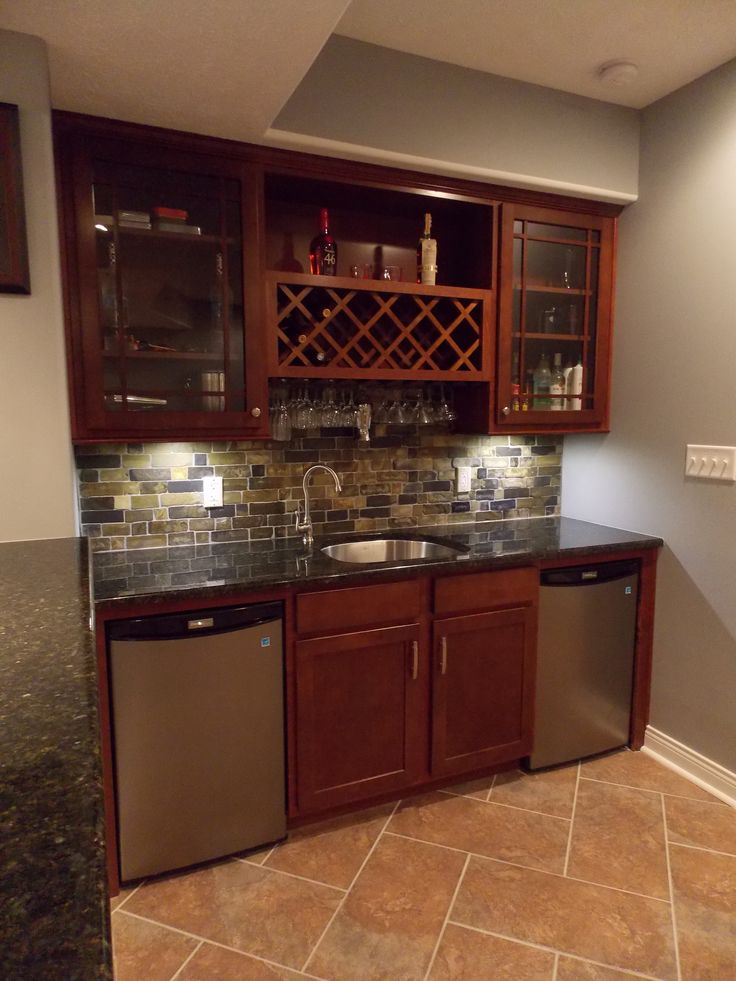 39 Best Basement Wet Bar Inspiration Images On Pinterest