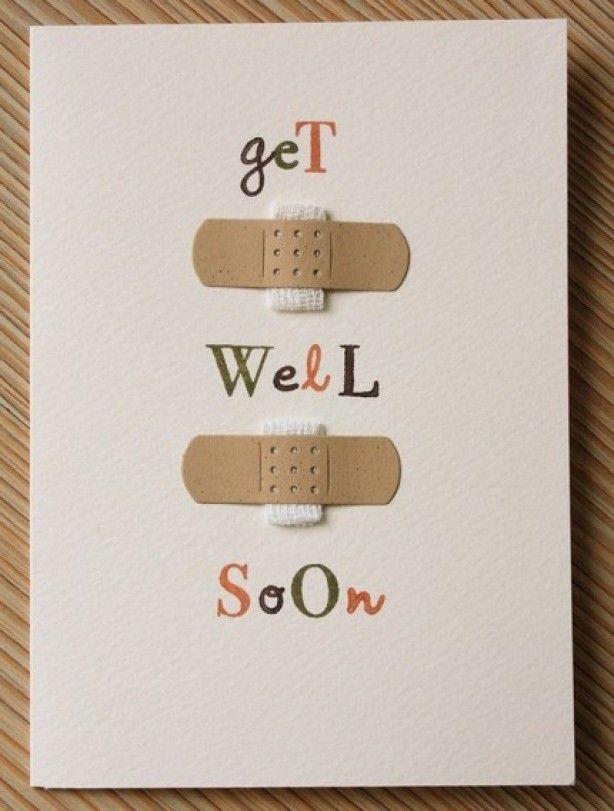 Get well soon :) cute bandage