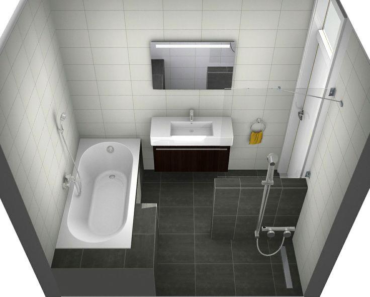 Meer dan 1000 idee n over kleine badkamer ontwerpen op for 3d ruimte ontwerpen