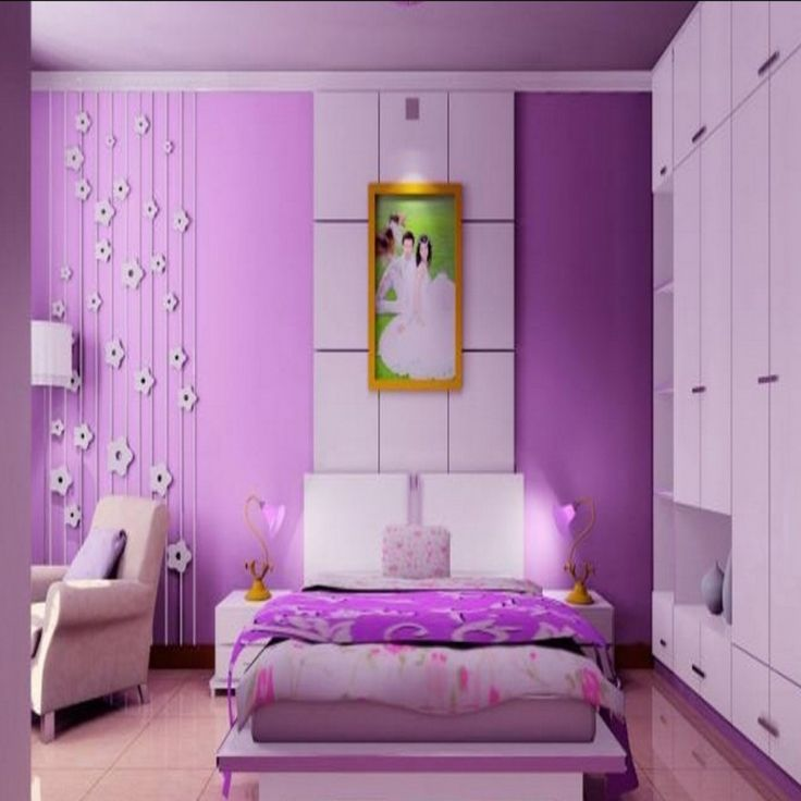Awesome How to Decorate A Purple Bedroom Check more at http://maliceauxmerveilles.com/how-to-decorate-a-purple-bedroom/