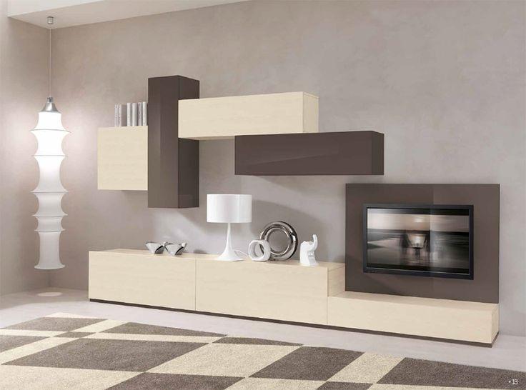 Modern Italian Wall Unit VV 3906 - $3,839.00